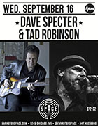 Dave Specter Tad Robinson at SPACE