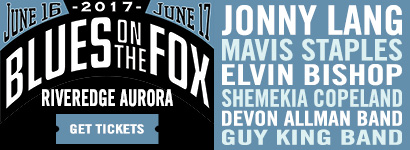 Blues on the Fox 2017