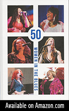 50 Women in the Blues ad