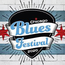 Chicago Blues Fest 2020 logo
